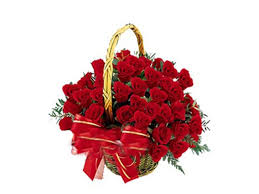 24 red roses bouquet with 1/2 Kg Dark Chocolate Cake